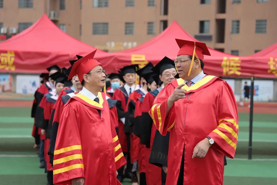【毕业典礼】我校举办2021届毕业典礼